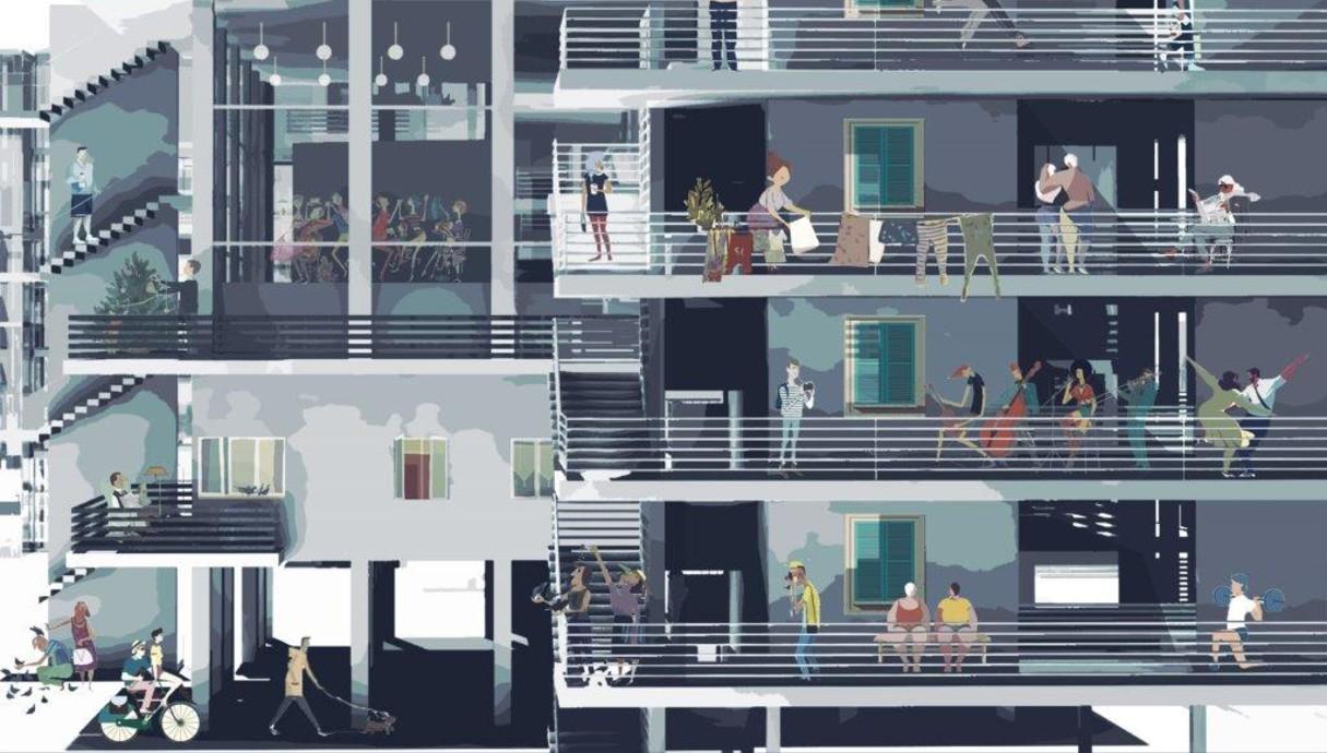 תערוכות בוגרים 2018, עיצוב סיון לזר, המחלקה לארכיטקטורה בצלאל
