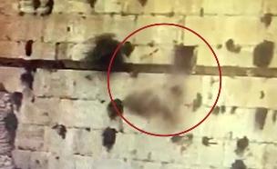 אבן שנופלת מהכותל (צילום: התנועה המסורתית בישראל, חדשות)