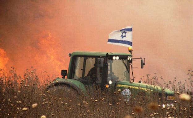 שרפות בעוטף (ארכיון) (צילום: רפי בביאן, חדשות)