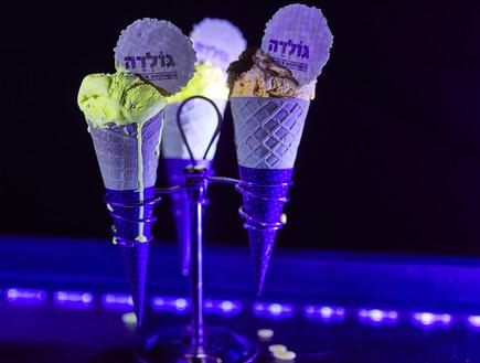 גלידה זוהרת בחושך, גולדה