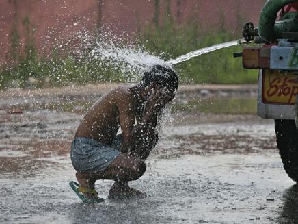 גל חום בהודו