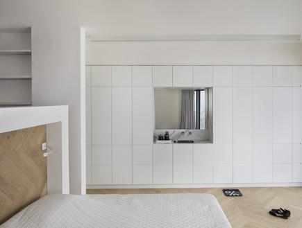קומה 41, עיצוב הנקין שביט, חדר שינה