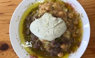 חומוס עכרמאווי (צילום: איילה כהן, אוכל טוב)