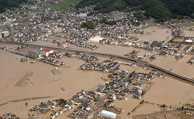 האסון הקודם ביפן (צילום: AP, חדשות)