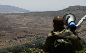 פליטים סמוך לגבול עם ישראל (צילום: רויטרס, חדשות)