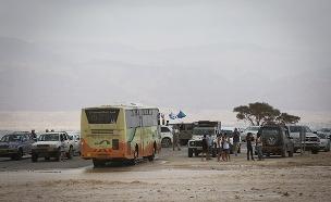 זירת האסון בערבה (צילום: הדס פארוש / פלאש 90, חדשות)
