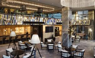 לובי המלון (צילום: אדוארד שטרן)