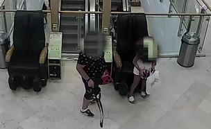 ילדים גונבים תיק  (צילום: באדיבות משטרת מרחב אילת, mako חופש)