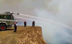שרפה בדורות (צילום: חדשות)