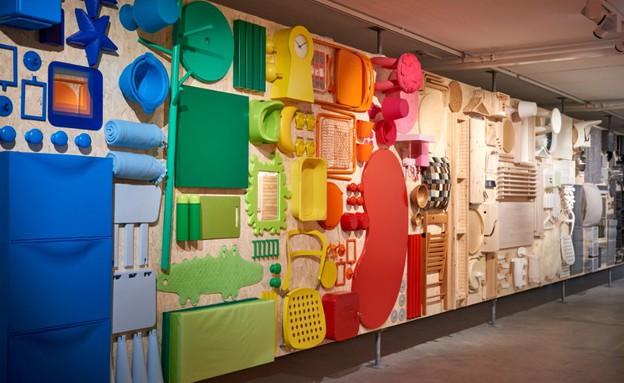 תערוכה במוזיאון, קיר העצמהף איקאה מוזיאון (צילום: איקאה)