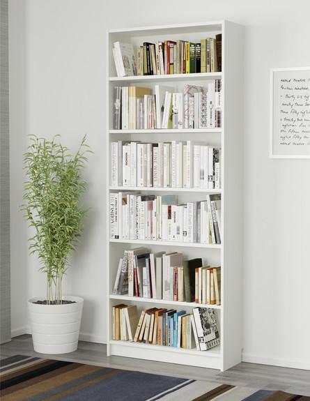 ספריית בילי, איקאה (צילום: איקאה)