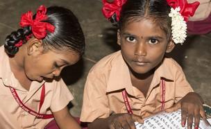 תלמידי בית ספר בהודו (צילום: Catherine L Prod, shutterstock)