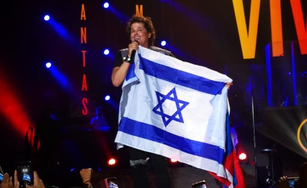 קרלוס ויוס בישראל (צילום: ניקולס גוטץ)