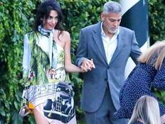 אכזבה: אמל קלוני לבשה את הבגד המחריד בעולם