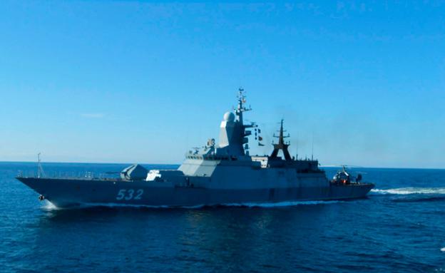 ספינת קרב, ארכיון (צילום: רויטרס, חדשות)