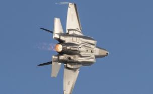 F-35 אדיר (צילום: סליה גריון, בטאון חיל האוויר)