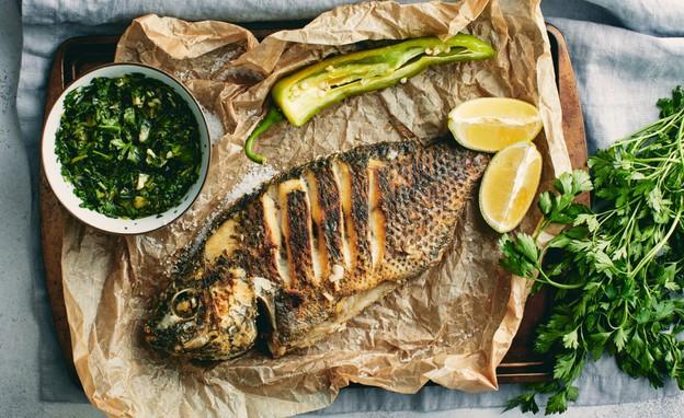 דג ישראלי טרי (צילום: אמיר מנחם, אוכל טוב)