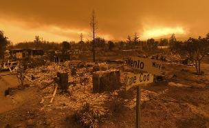שריפה, רדינג קליפורניה (צילום: AP, חדשות)