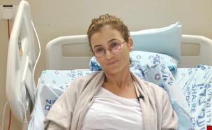 """האמא מהמלונית בירושלים מדברת (צילום: מתוך """"חדשות הבוקר"""" , קשת 12)"""