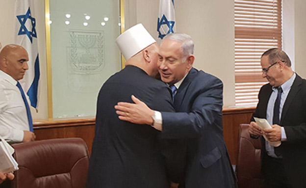 פגישת נתניהו עם מנהיגי העדה הדרוזית (צילום: חדשות)