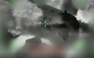 """תקיפת מטרות בעזה (צילום: דובר צה""""ל, חדשות)"""