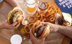 המבורגר וצ'יפס, אנגוס (צילום: אנטולי מיכאלו, יחסי ציבור)