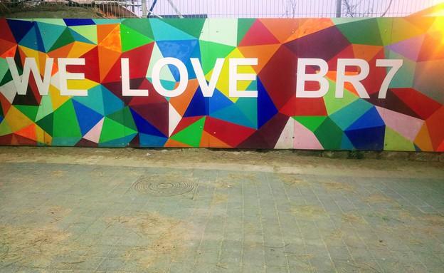 אמנות רחוב - נגה משל 2 (צילום: נגה משל )