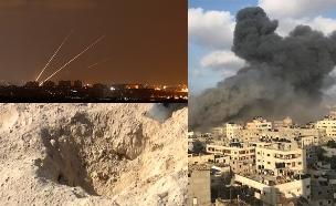 בחמאס טוענים: הושגה הפסקת אש (צילום: רויטרס, החדשות)
