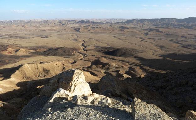 מטייל נפל ממצוק ונהרג (צילום: דב גרינבלט, החברה להגנת הטבע, חדשות)