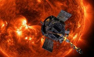 """ישיר: הגשושית של נאס""""א תגיע לשמש? (צילום: NASA/Johns Hopkins APL/Steve Gribben, חדשות)"""