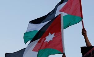 דגל ירדן (צילום: רויטרס, חדשות)