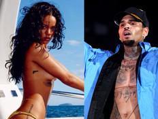 כריס בראון לא נרגע מהתמונה של ריהאנה