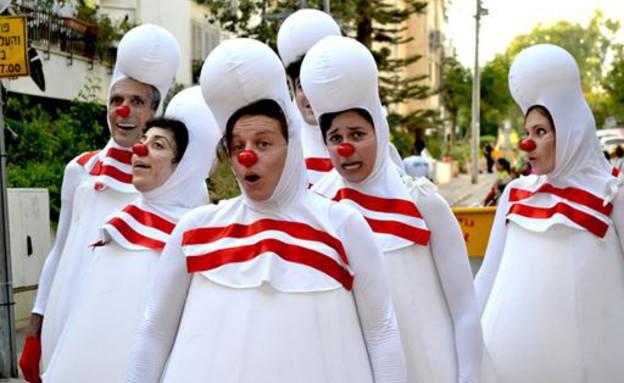 האנשים שמצחיקים לפרנסתם (צילום: שמרית לוגסי, יחסי ציבור)