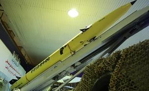 הטיל החדש שנחשף (צילום: סוכנות הידיעות Tasnim, חדשות)