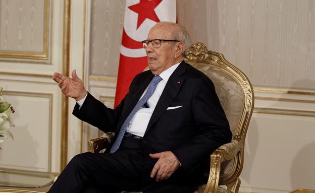 נשיא תוניסיה א-סבסי (צילום: רויטרס, חדשות)