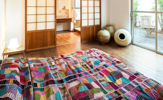 בית בבנימינה, עיצוב אסתי דינור, חדר שינה (4) (צילום: סטודיו איתי אבירן)