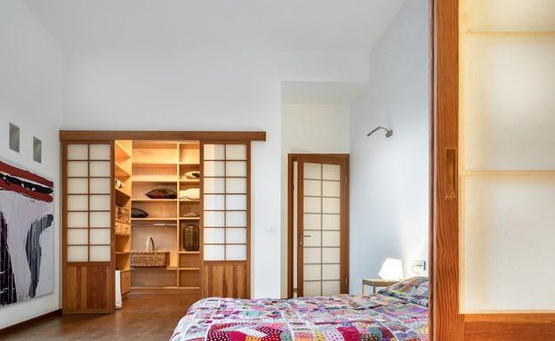 בית בבנימינה, עיצוב אסתי דינור, חדר שינה (8) (צילום: סטודיו איתי אבירן)