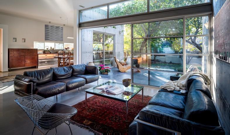 בית בבנימינה, עיצוב אסתי דינור, סלון (3) (צילום: סטודיו איתי אבירן)