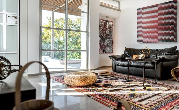 בית בבנימינה, עיצוב אסתי דינור, סלון (6) (צילום: סטודיו איתי אבירן)