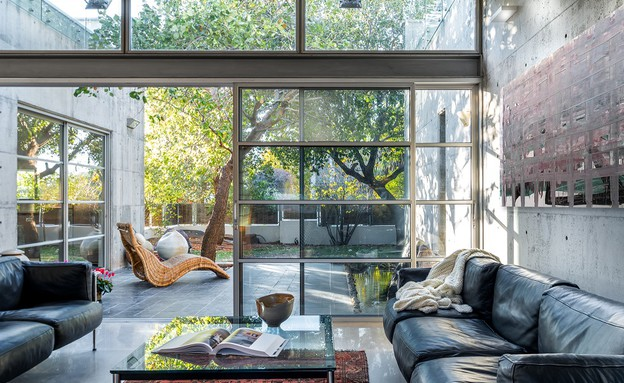 בית בבנימינה, עיצוב אסתי דינור, סלון (7) (צילום: סטודיו איתי אבירן)