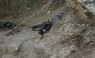 """הנשק של חוליית אנשי דאע""""ש (צילום: דוצ, חדשות)"""