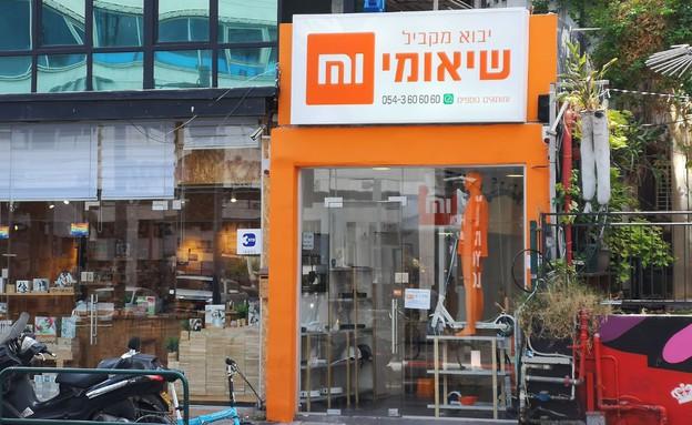 חנות היבואן המקביל של שאומי בתל אביב (צילום: אהוד קינן, NEXTER)