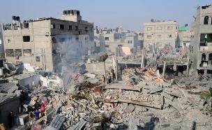 הרס ברפיח (צילום: רויטרס, חדשות)