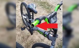 האופניים של דני (צילום: Facebook/KHQ Hayley Guenthner)