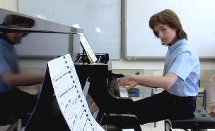 הפסנתרן הגדול הבא - דווקא מהנגב? (צילום: החדשות)