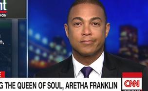 כך נפרד מגיש CNN ממלכת הסול בשידור (צילום: מתוך שידורי CNN, חדשות)
