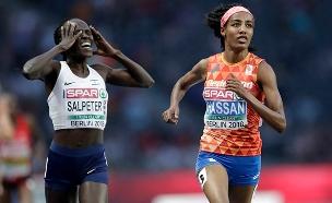 חשבה שזכתה במדליה והפסיקה לרוץ (צילום: AP, חדשות)