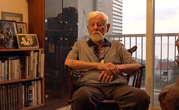 אורי אבנרי בראיון לנעמה נעמי ליבה (צילום: אוהד קב, חדשות)