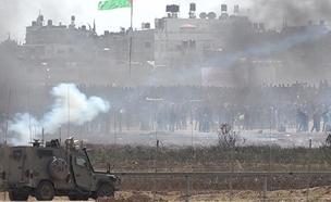 מהומות בגבול עזה. ארכיון (צילום: החדשות)