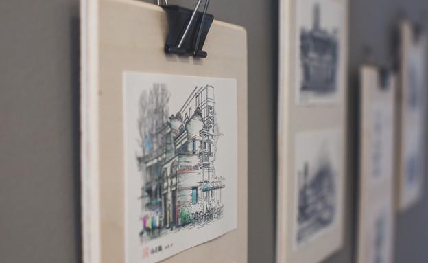 דירה בפלורנטין, עיצוב ליאת אליאב (15) (צילום: דנה סטמפלר עשהאל)